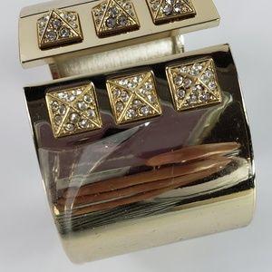 NWOT! Victoria's Secret Cuff Bracelet Gold Tone